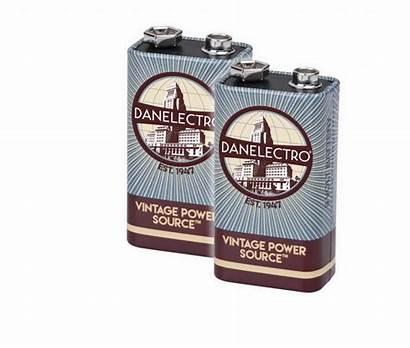 Battery Danelectro 9v 1960 Batterie 2er Db