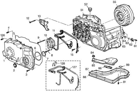 4t45e Automatic Transaxle Diagram 4t40e transmission parts diagram downloaddescargar