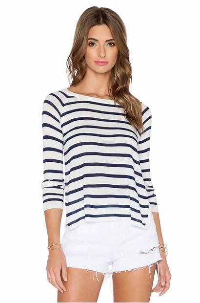 Sweater Stripe Striped Sweaters Slit Summer Nautical