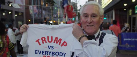 Get Me Roger Stone Get Me Roger Stone Movie Review 2017 Roger Ebert