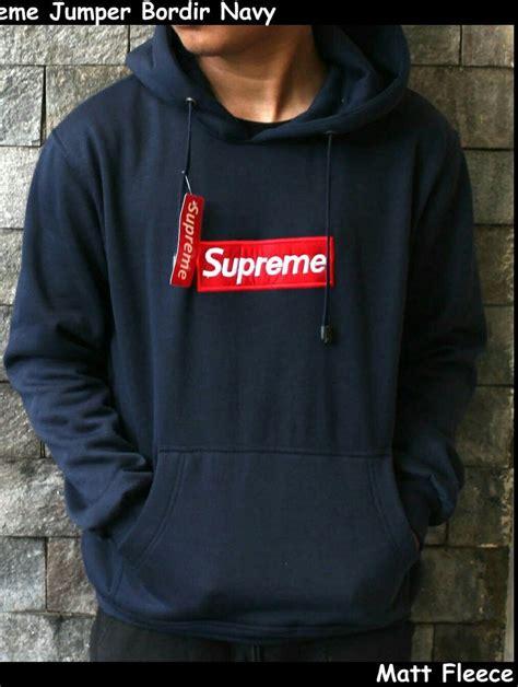 gambar sweater supreme koleksi gambar hd