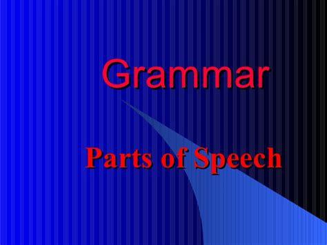 Grammar Powerpoint