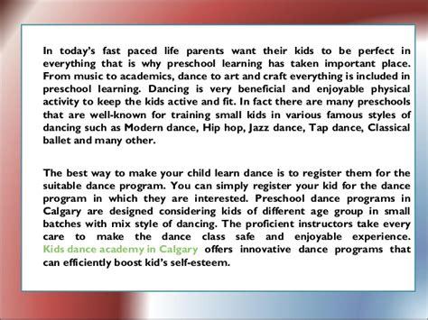 importance of preschool programs in calgary 852   importance of preschool dance programs in calgary 2 638