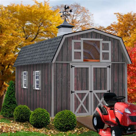 Menards Wood Storage Shed Kits by Best Barns Woodville 10 X 16 Shed Kit Without Floor At