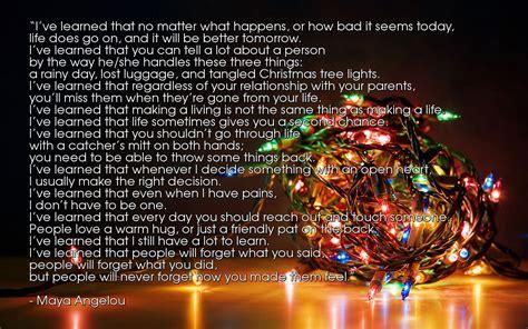 maya angelou christmas lights mouthtoears com