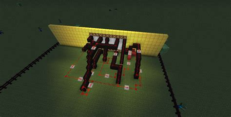 Glowstone Lamp Post by Redstone Lamp Display Minecraft Project