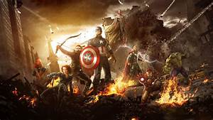 Avengers Dual Screen Wallpaper - WallpaperSafari