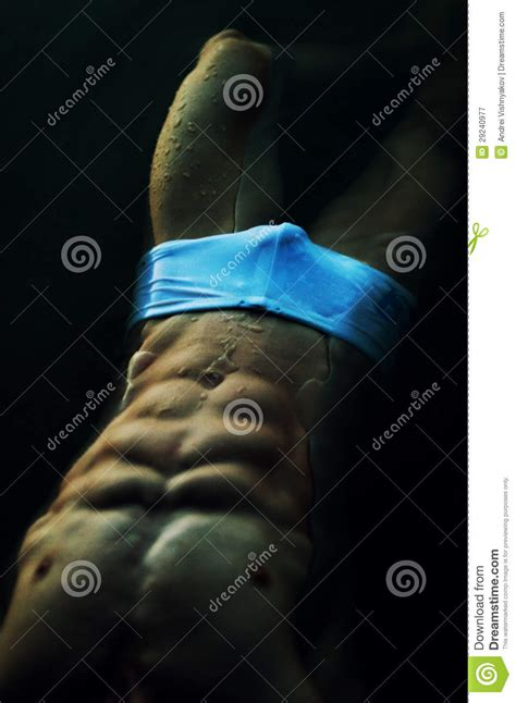 male body underwater royalty  stock photography