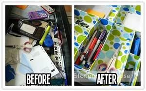 How To Make Cute  U0026 Neat Diy Desk Drawer Organizer