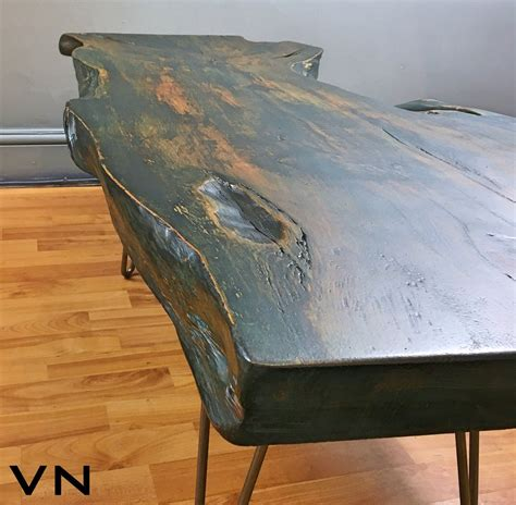 Jordan, who works on ikea hacks when he's not at read more →. Live edge wood slab coffee table on industrial hairpin ...