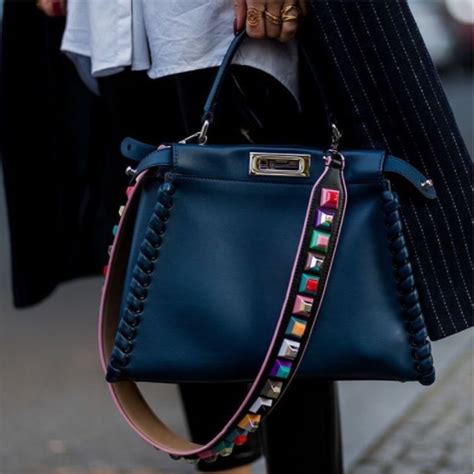 customize  bag  designer straps spotted fashion