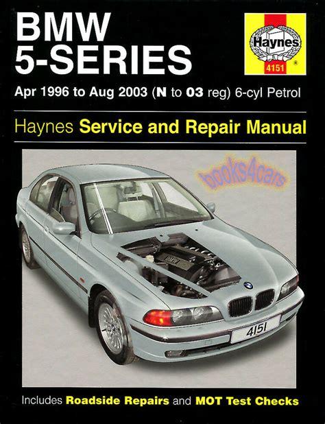 bmw shop manual service repair haynes book  series