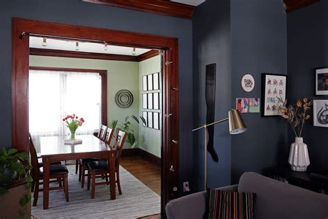 big bold  paint trends point  high contrast