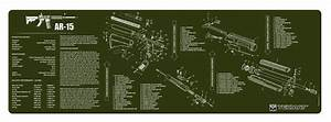 Beck Tek  Llc  Tekmat  R36ar15od Ar