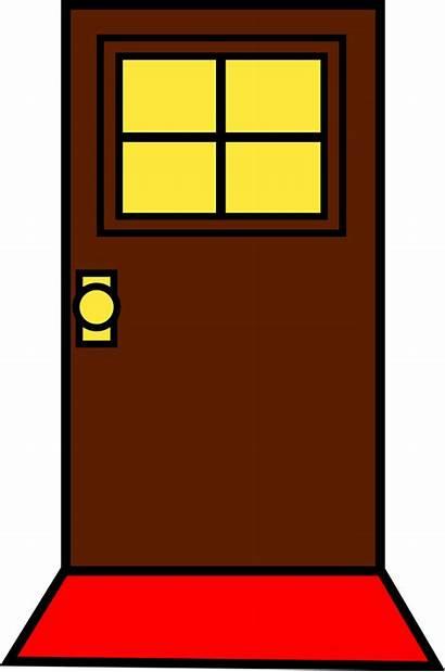 Classroom Clipart Cabinet Transparent Door Open Welcome