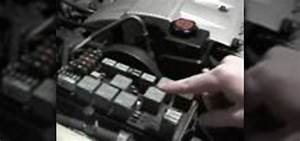 How To Check The Fuses In A Cadillac  U00ab Maintenance