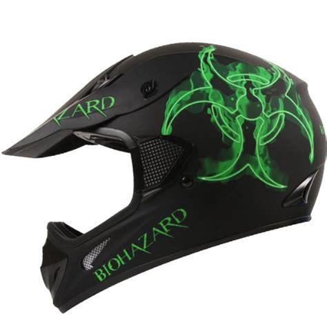 motocross helmet for sale bio hazard matte black atv dirt bike motocross motorsports