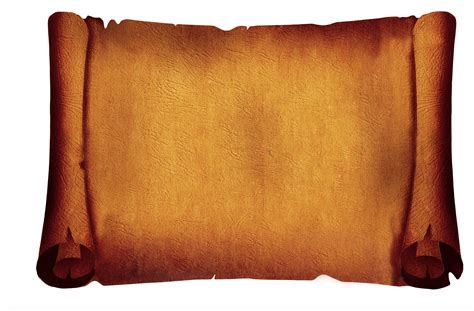 parchment scroll clipart png  cliparts    clipart collection