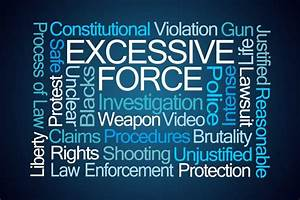 Excessive Use Of Force By The Police