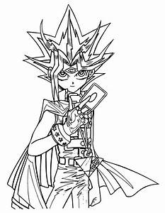 Yu Gi Oh 1 Dessins Anims Coloriages Imprimer
