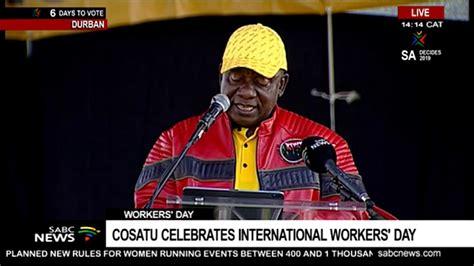 President cyril ramaphosa addresses the nation on sunday, 28 february. Ramaphosa Speech : Ramaphosa speech at ANC Limpopo ...