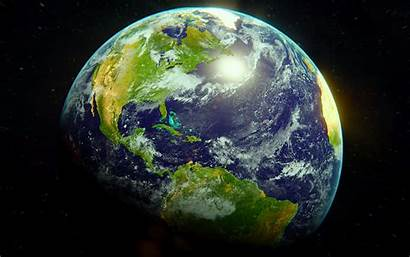 Earth Planet Surface Space Atmosphere 1080p Background