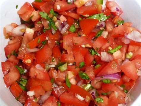 tomato recipe fresh tomato salsa