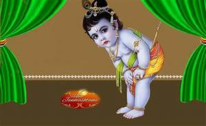 Great Looking Happy Krishna Janmashtami Greetings Cards