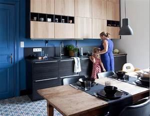 Ikea Facade Cuisine : des cuisines modernes en bois le retour euphrozine ~ Preciouscoupons.com Idées de Décoration
