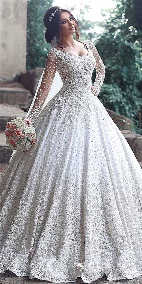 18 Various Ball Gown Wedding Dresses For Amazing Look In