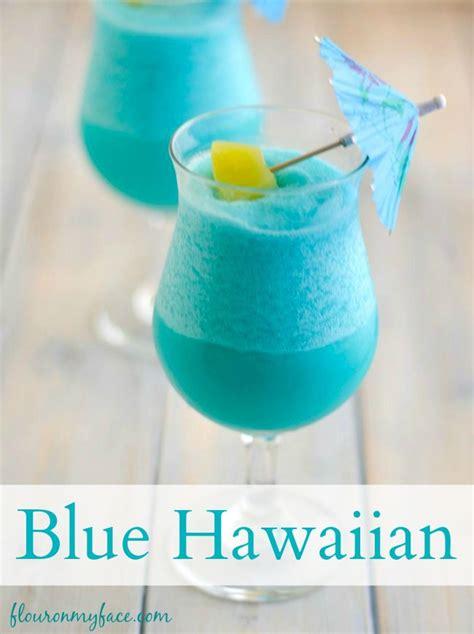 blue hawaiian cocktail recipe hawaiian cocktails