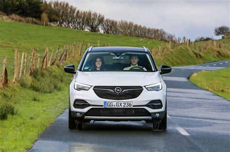 der neue opel suv fahrbericht neuer opel grandland x mit 2 0 liter turbodiesel