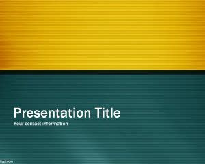 professional green powerpoint template  template