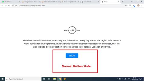 button agent border chrome focus showing state google