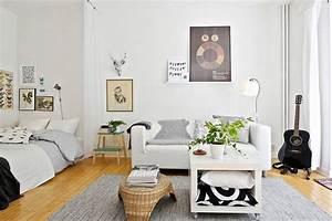 coin chambre dans le salon 40 idees pour l39amenager With amenager chambre dans salon