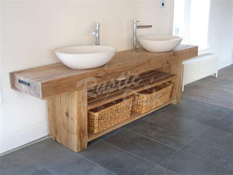 Oak Beam Sink Unit  Rustic Oak