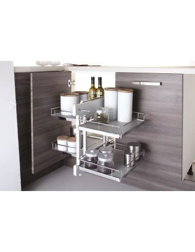 corner unit kitchen storage innostor 900mm corner optimiser for kitchen corner units 5878