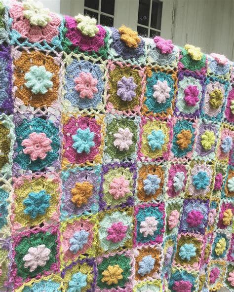 gehaakte bloemen zeshoek deken 408 beste afbeeldingen van gehaakte dekens gebreide