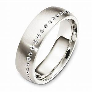 wedding rings with engraved mens 18k white gold wedding rings With mens white gold wedding ring