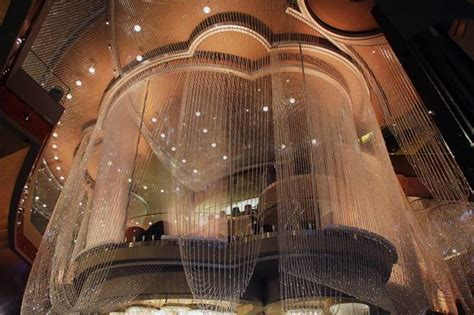 the cosmopolitan hotel s chandelier bar in las vegas