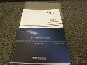 2011 Kia Sportage Suv Owner Owner U0026 39 S Manual User Guide Book