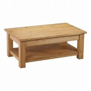 Table Basse Pin : table basse en pin 2 plateaux 100 cm achat vente table basse table basse soldes d t ~ Teatrodelosmanantiales.com Idées de Décoration
