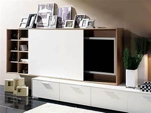 Fernseher Verstecken Möbel : wohnzimmerm bel tolle wohnwand designs die sie inspirieren ~ Markanthonyermac.com Haus und Dekorationen