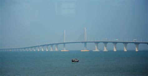 hong kong macau bridge world s bridge connecting hong kong macau zhuhai