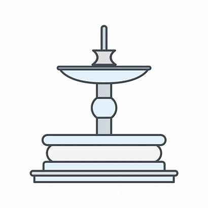 Fountain Vector Icon Vectors Keywords Related
