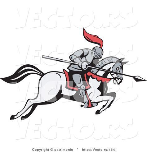 Knight On Horse Clip Art Free
