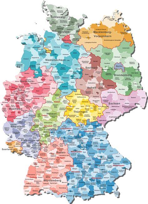 generelle karte deutschland deutschlandkarte