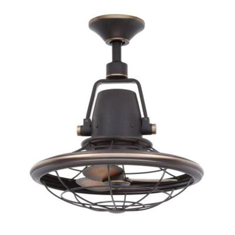 Small Oscillating Outdoor Ceiling Fan by Home Decorators Collection Bentley Ii 18 90 In Outdoor