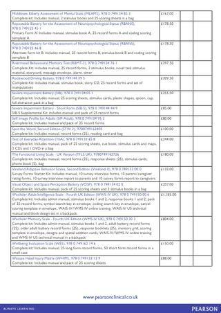 rehabilitation information pack  pearson assessment issuu