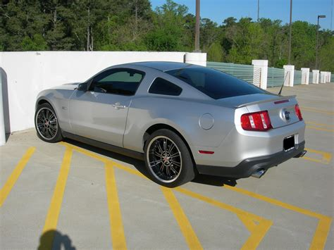 ingot silver gt  cs wheels  mustang source